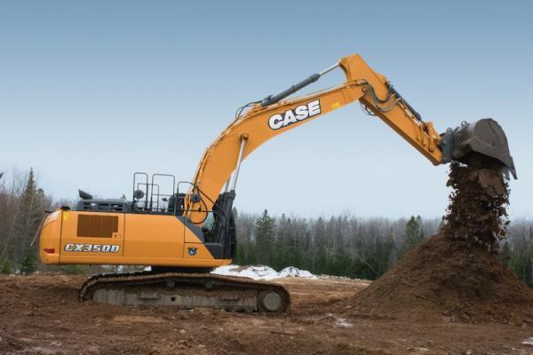 Case D Series Excavators Feature Hydraulic Upgrades