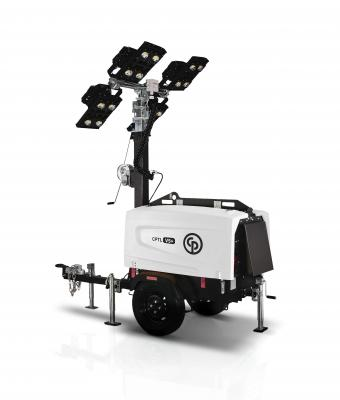 Chicago Pneumatic CPLT V5+ HiLight is the company's first LED light tower