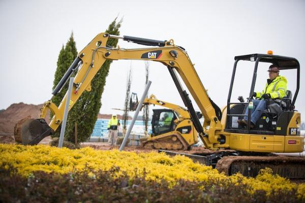 Caterpillar 303E CR Excavator Construction Equipment