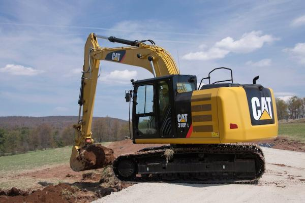Caterpillar Completes F Series Excavator Lineup | Construction Equipment