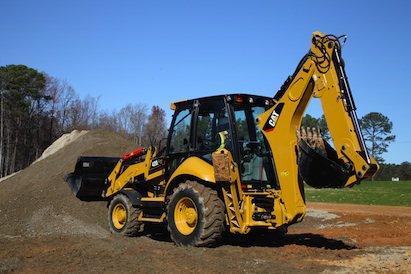 Cat 416F, 420F, 430F Backhoe Loaders   Construction Equipment