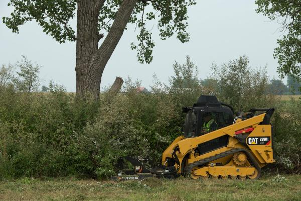 Caterpillar Industrial Brushcutter | Construction Equipment