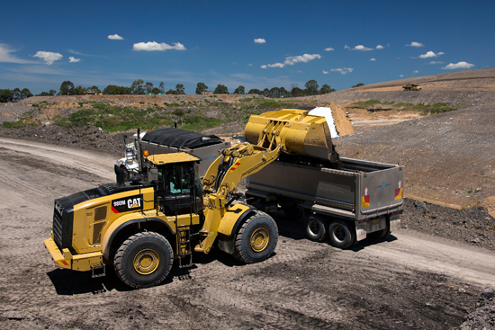 M Series loaders have Tier 4-F engines