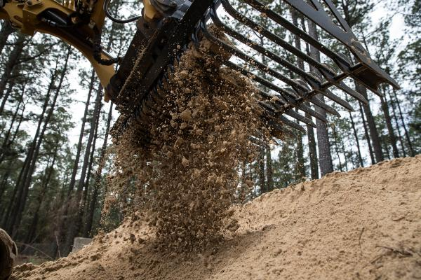 Used primarily to separate rocks and large debris from soil and sand, the company's Skeleton Buckets are used by skid steer loaders, CTLs and compact wheel loaders operating in agriculture, construction, land clearing, demolition, landscaping, and scrap handling.