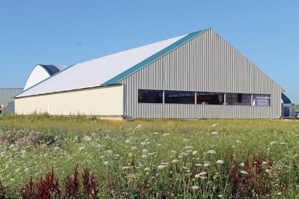 ClearSpan Fabric Structures offers the Hybrid Building, which provides a design-build solution for material and storage needs.