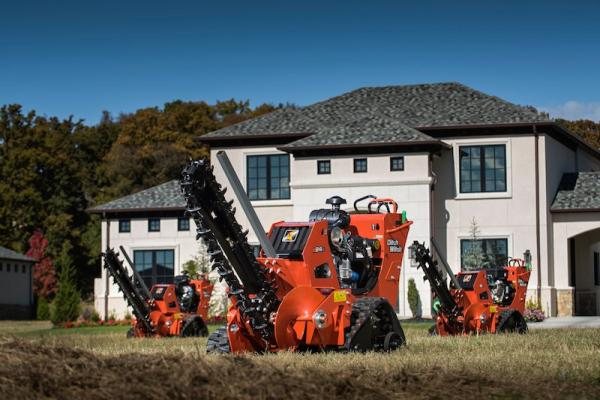 Ditch Witch C, CX Series Trenchers
