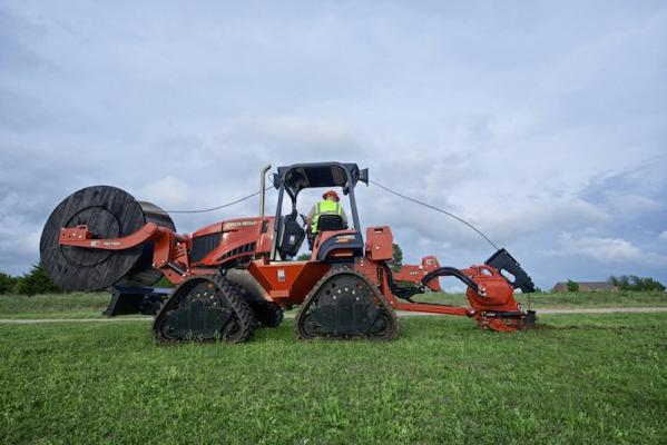 Ditch Witch RT120 Quad Trencher | Construction Equipment