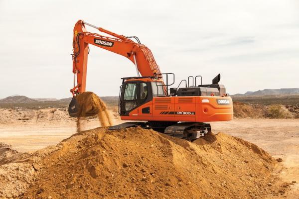 Doosan DX300LC-5, DX350LC-5 Excavators   Construction Equipment