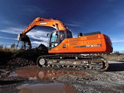 Doosan DX300LC Excavator