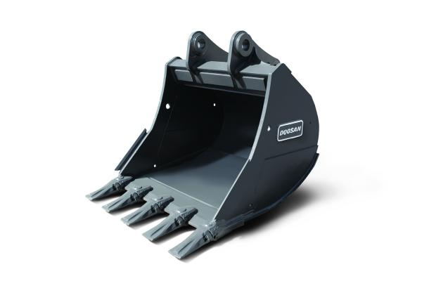 Doosan Severe-Duty Buckets for Crawler Excavators