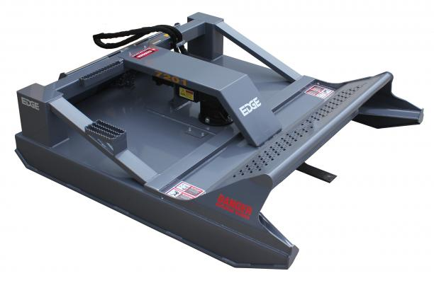 The Edge 72-inch Open Face Rotary Brush Mower is designed to cut through thick brush