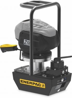 ZC Series cordless hydraulic pump is designed for jobs that require a combination of portability, speed, and safety in remote locations without access to power, as well as applications indoors where trip hazards, ergonomics, or size are concerns.