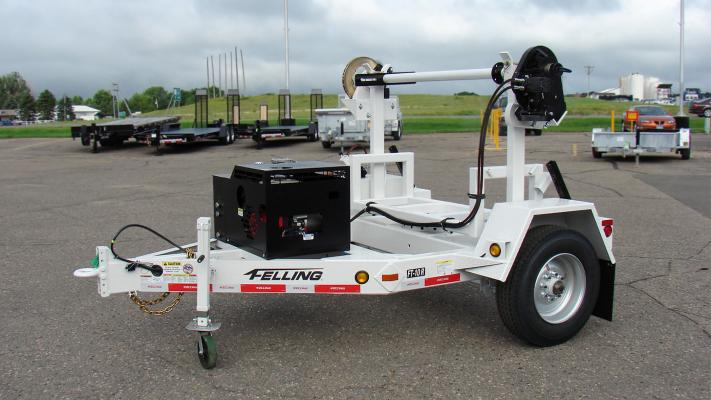 The company has the ability to customize the FT-10 R Turret Reel trailer for municipalities, electric utilities, communications, gas, oil, and more.