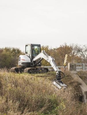 Bobcat 40-inch FMR Flail Mower for Bobcat E Series Excavators