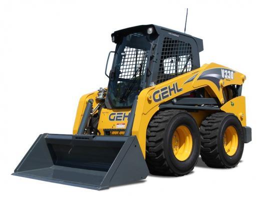 Gehl V270, V330 Gen:2 Skid Steer Loaders   Construction Equipment