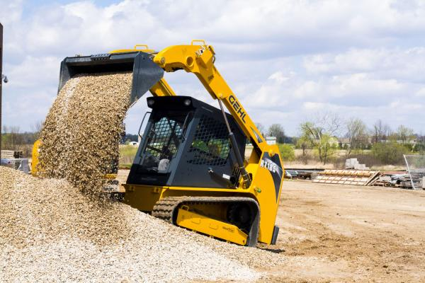 The RT185 Pilot Series compact track loader has a rated operating capacity of 1,850 pounds