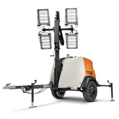 The MLT6SMDS and MLT6SKDS LED mobile light towers feature four 296W LED fixtures, which are designed to last the lifetime of the light tower, with a 10-year life expectancy and five-year warranty.