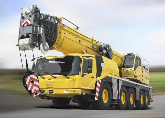 Grove GMK5180-1, GMK5200-1 All-Terrain Cranes