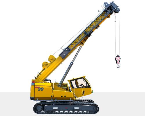 The GHC30 crawler crane expands the Grove Hydraulic Crawler line.