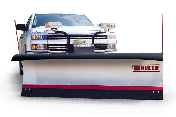 Hiniker 7000 Series Plows are Available With Stainless Steel Moldboards