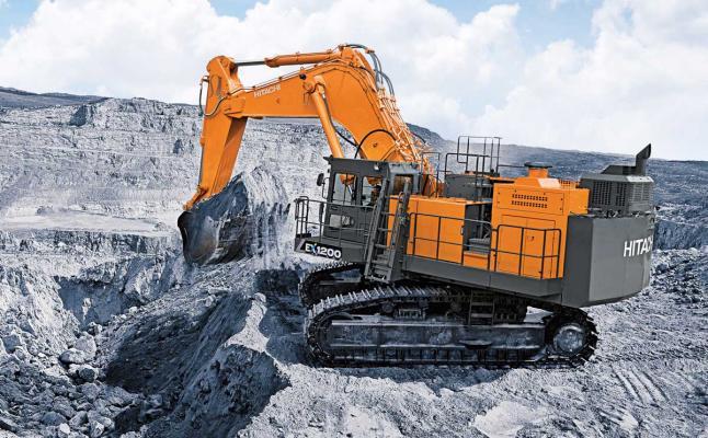 Hitachi EX1200-7 Mining Excavator | Construction Equipment