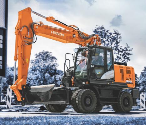 Hitachi ZX190W-6 Wheeled Excavator | Construction Equipment