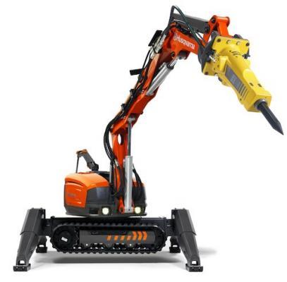 Husqvarna DXR 270, DXR 300 Demolition Robots