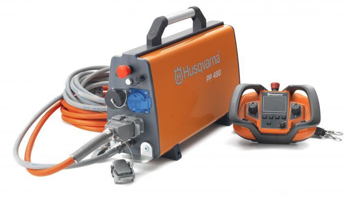 Husqvarna PP 490 Power Pack Drives Multiple Pieces of Husqvarna Equipment