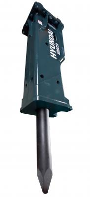 The HDB series of hydraulic breakers includes 15 different models to fit multiple machine sizes and applications.
