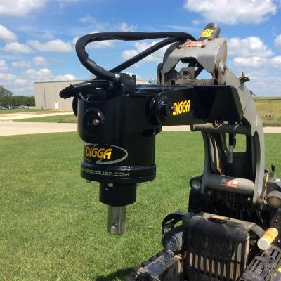 Digga MM-10K Anchor Drive for Mini Loaders, Skid Steers and Excavators