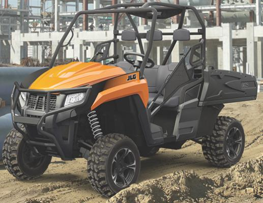 JLG 315G and 615G gas-powered utility vehicles mark the entry into a new product category.