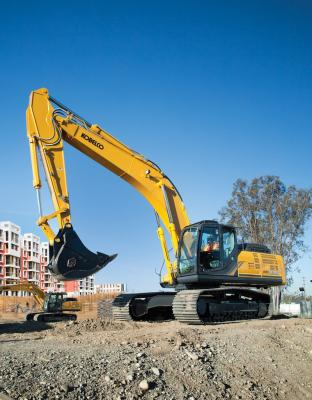 Kobelco SK350LC Excavator | Construction Equipment