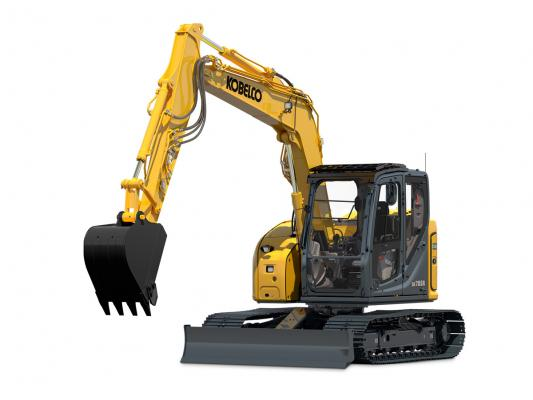Kobelco SK75SR-7, SK85CS-7 Excavators | Construction Equipment