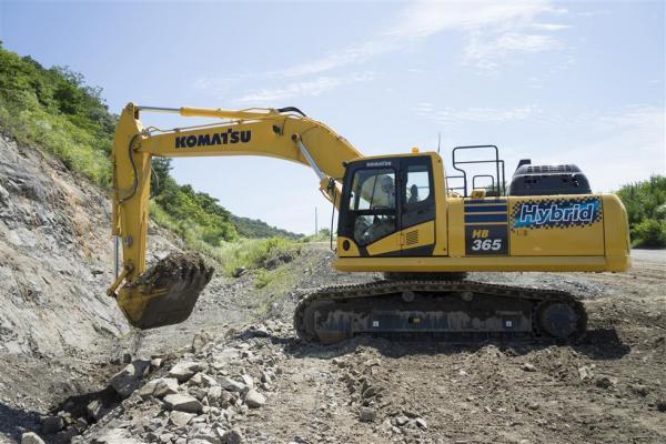 Komatsu HB365LC-3 Hybrid Excavator | Construction Equipment