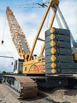 Liebherr LR1200/LR1200SX Crawler Crane | Construction Equipment