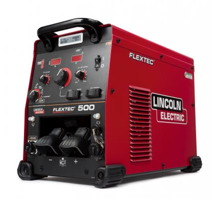 Lincoln Electric Flextec 500 Multi-Process Welder Delivers 500 Amps