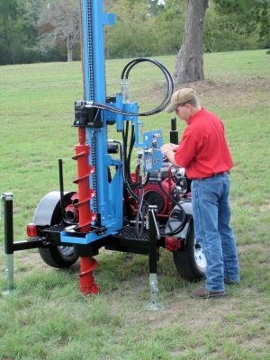 Little Beaver Lone Star LS T1 Geotechnical Drill
