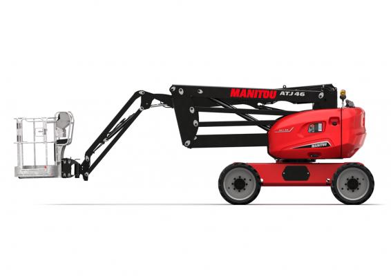 Manitou ATJ 46 has a 24 horsepower Kubota engine