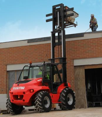 Manitou M 40 RT Forklift in 2WD, 4WD Versions