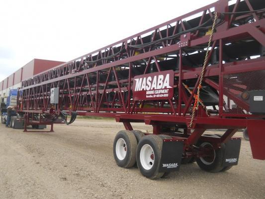 Masaba Slide-Out Transfer Conveyor