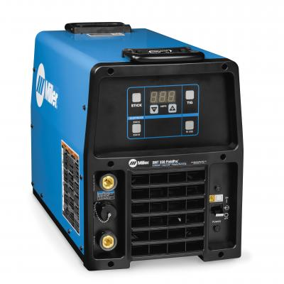 The XMT 350 FieldPro system with Polarity Reversing eliminates the need to manually swap leads or cables between welding processes.
