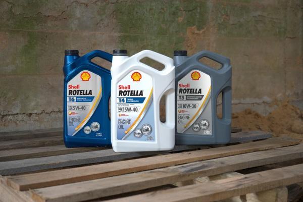 Shell Rotella API CK-4, FA-4 Portfolio of Diesel Engine Oils