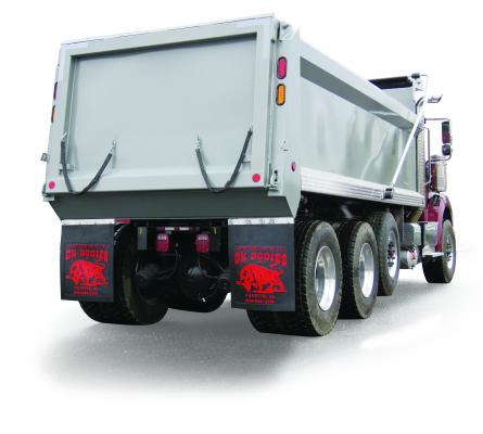 Ox Bodies TrailMaker dump body is made of carbon steel