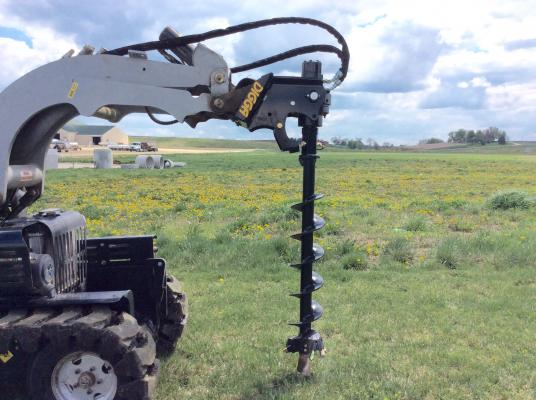 Digga Mini Loader Auger Drivers for Mini Loaders and Compact Tool Carriers