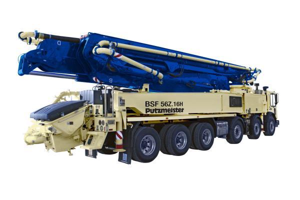Putzmeister 56Z-Meter Concrete Pump | Construction Equipment