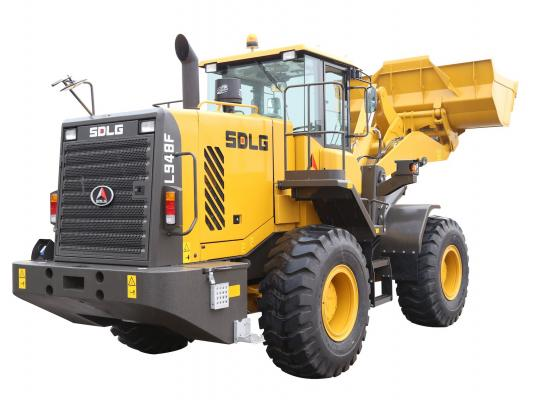 SDLG L938F and L948F wheel loaders have been updated