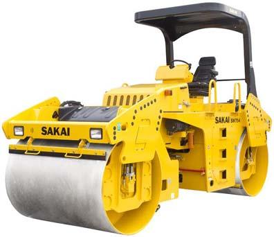 Sakai SW754 Vibratory Roller