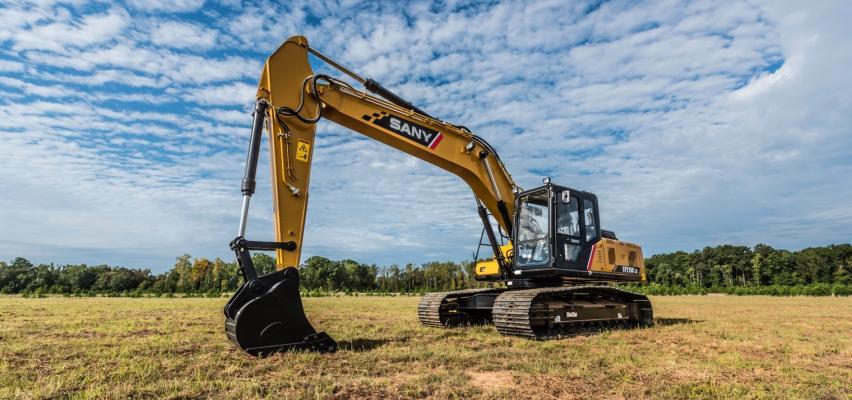 Sany SY215C Excavator | Construction Equipment
