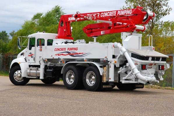 Schwing S20 Concrete Pump | Construction Equipment