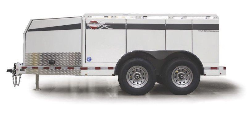 Thunder Creek Multi-Tank Trailers Transport Diesel
